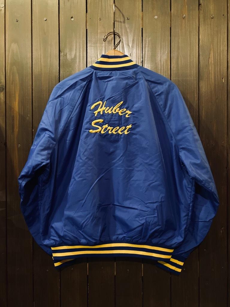マグネッツ神戸店 8/8(土)Made in U.S.A. Nylon/Satin Varsity Jacket入荷! #2 Mat Body!!!_c0078587_15030242.jpg