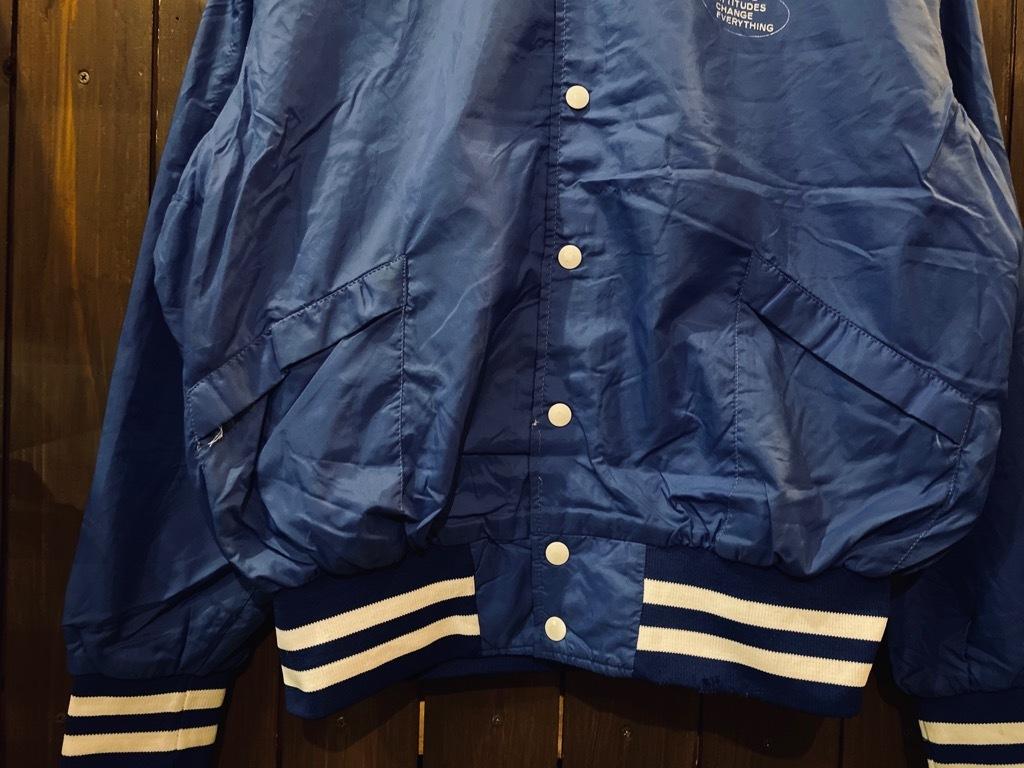 マグネッツ神戸店 8/8(土)Made in U.S.A. Nylon/Satin Varsity Jacket入荷! #2 Mat Body!!!_c0078587_15034037.jpg