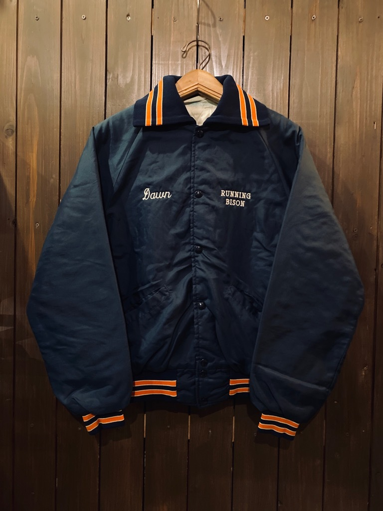 マグネッツ神戸店 8/8(土)Made in U.S.A. Nylon/Satin Varsity Jacket入荷! #2 Mat Body!!!_c0078587_15040337.jpg