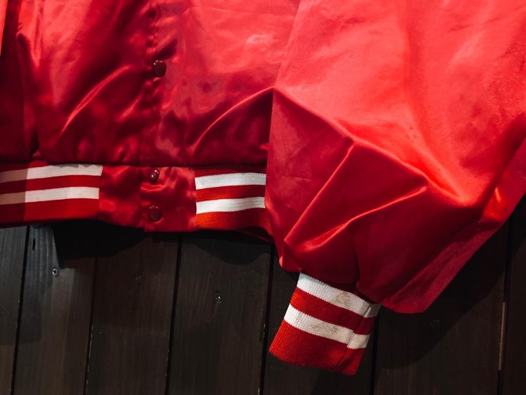 マグネッツ神戸店 8/8(土)Made in U.S.A. Nylon/Satin Varsity Jacket入荷! #3 Chain Stitch!!!_c0078587_15044458.jpg