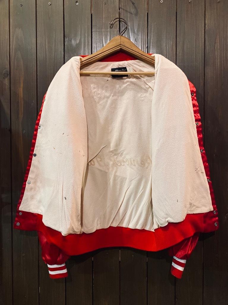 マグネッツ神戸店 8/8(土)Made in U.S.A. Nylon/Satin Varsity Jacket入荷! #3 Chain Stitch!!!_c0078587_15044502.jpg