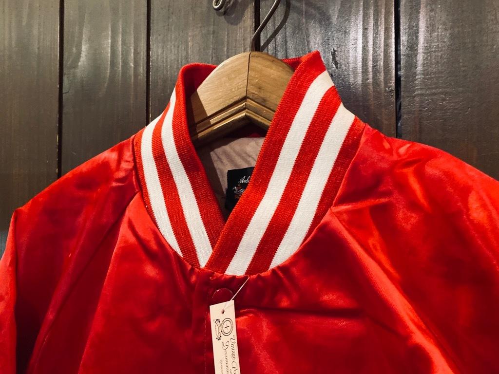 マグネッツ神戸店 8/8(土)Made in U.S.A. Nylon/Satin Varsity Jacket入荷! #3 Chain Stitch!!!_c0078587_15044508.jpg