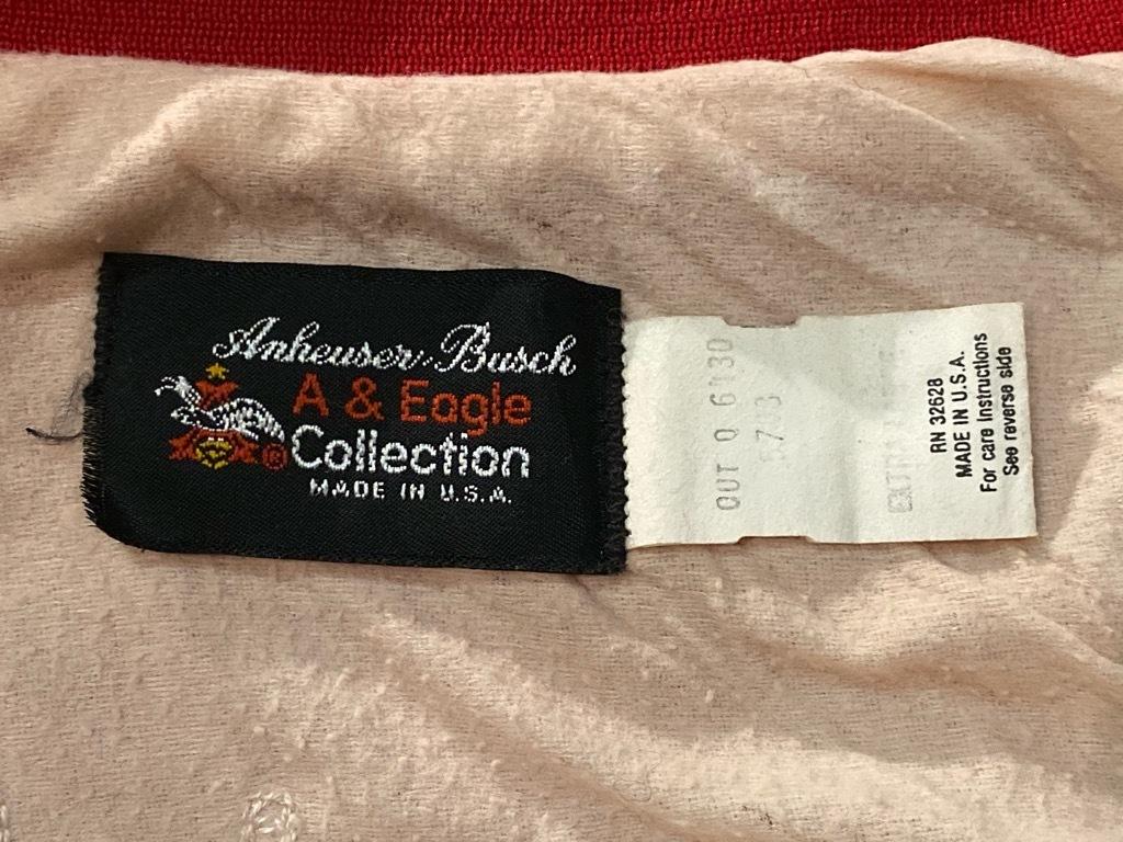 マグネッツ神戸店 8/8(土)Made in U.S.A. Nylon/Satin Varsity Jacket入荷! #3 Chain Stitch!!!_c0078587_15044534.jpg