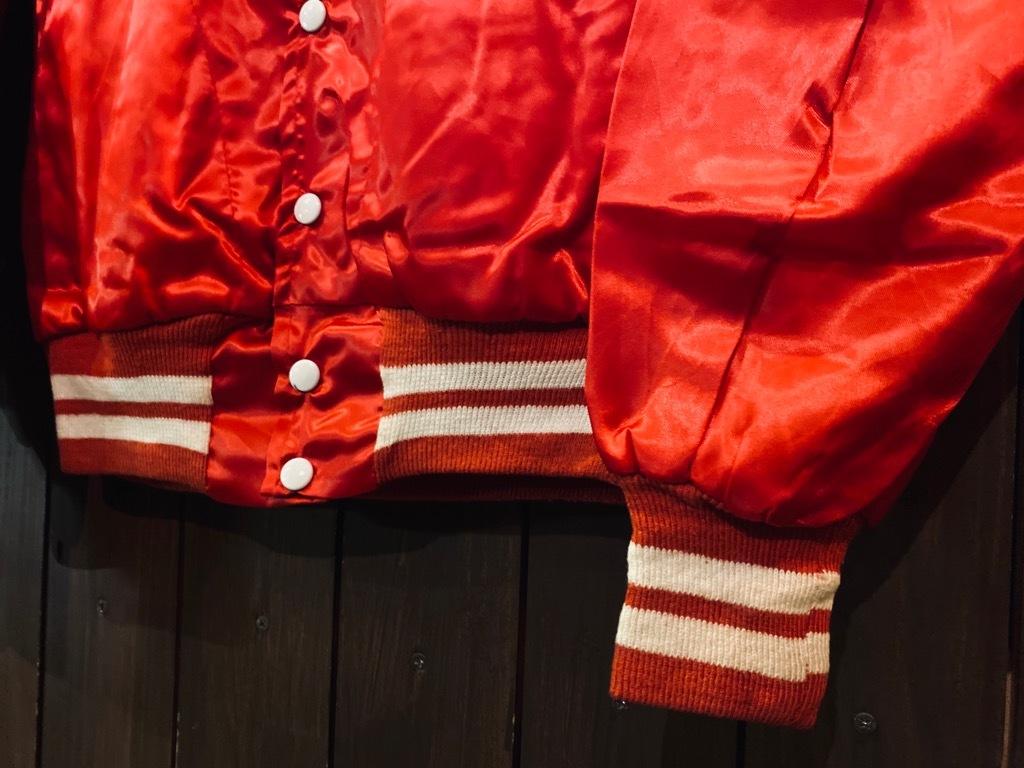 マグネッツ神戸店 8/8(土)Made in U.S.A. Nylon/Satin Varsity Jacket入荷! #3 Chain Stitch!!!_c0078587_15060210.jpg