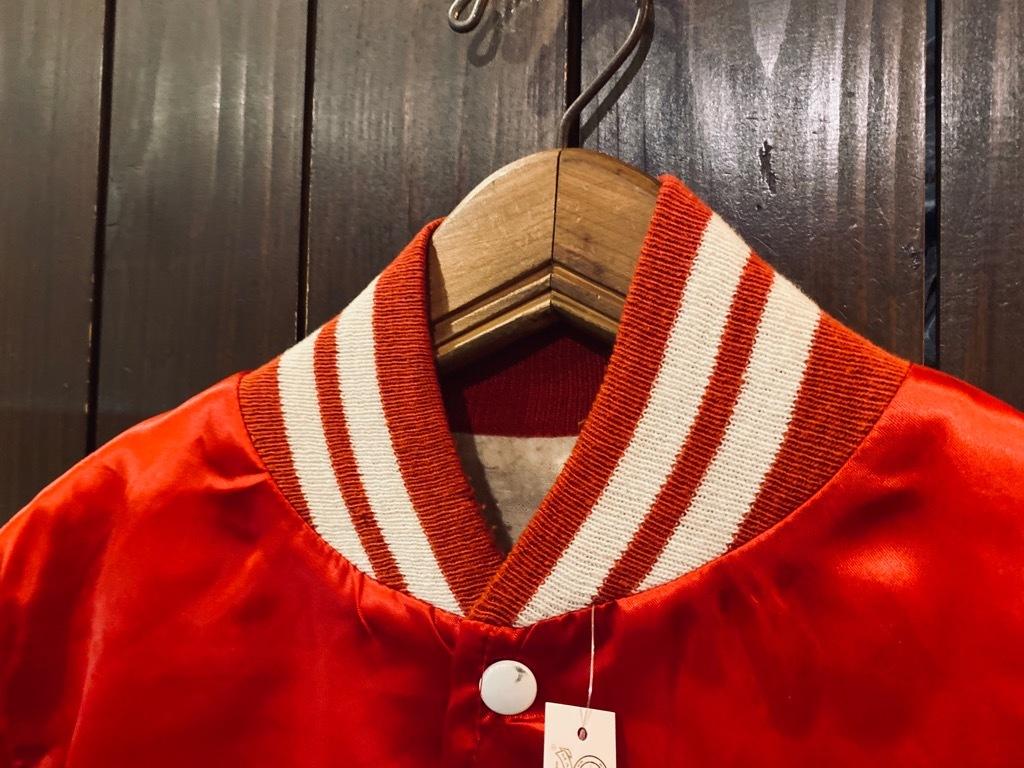 マグネッツ神戸店 8/8(土)Made in U.S.A. Nylon/Satin Varsity Jacket入荷! #3 Chain Stitch!!!_c0078587_15060221.jpg