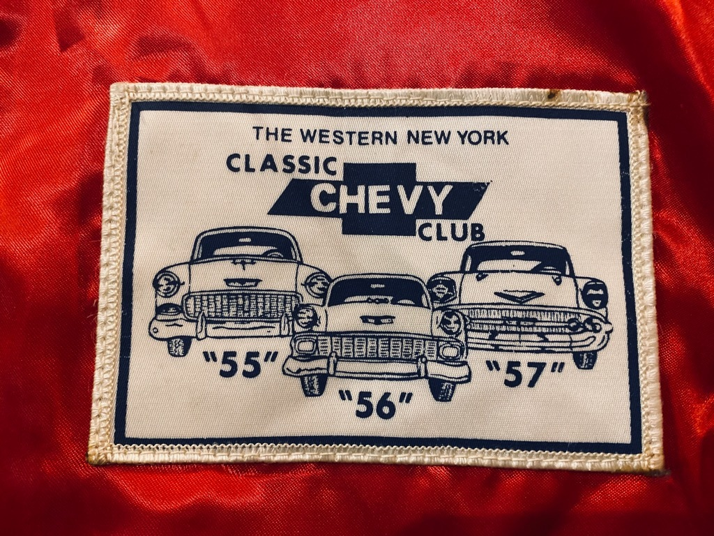 マグネッツ神戸店 8/8(土)Made in U.S.A. Nylon/Satin Varsity Jacket入荷! #3 Chain Stitch!!!_c0078587_15060251.jpg