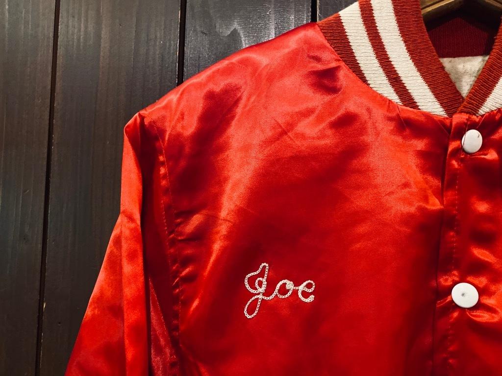 マグネッツ神戸店 8/8(土)Made in U.S.A. Nylon/Satin Varsity Jacket入荷! #3 Chain Stitch!!!_c0078587_15060297.jpg