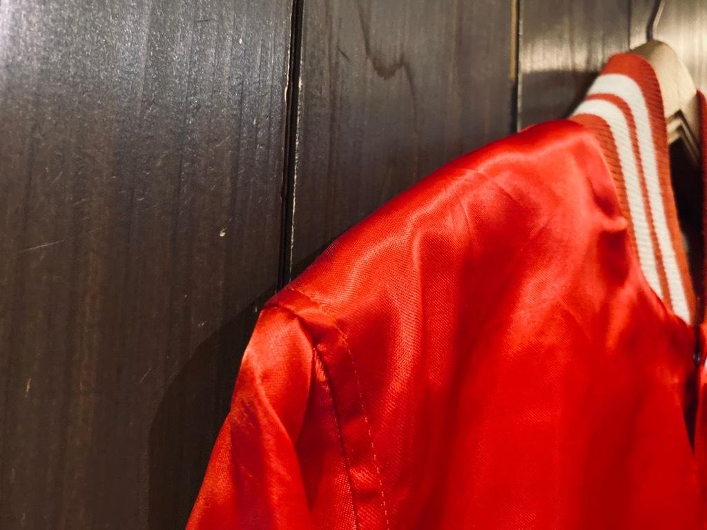マグネッツ神戸店 8/8(土)Made in U.S.A. Nylon/Satin Varsity Jacket入荷! #3 Chain Stitch!!!_c0078587_15060337.jpg
