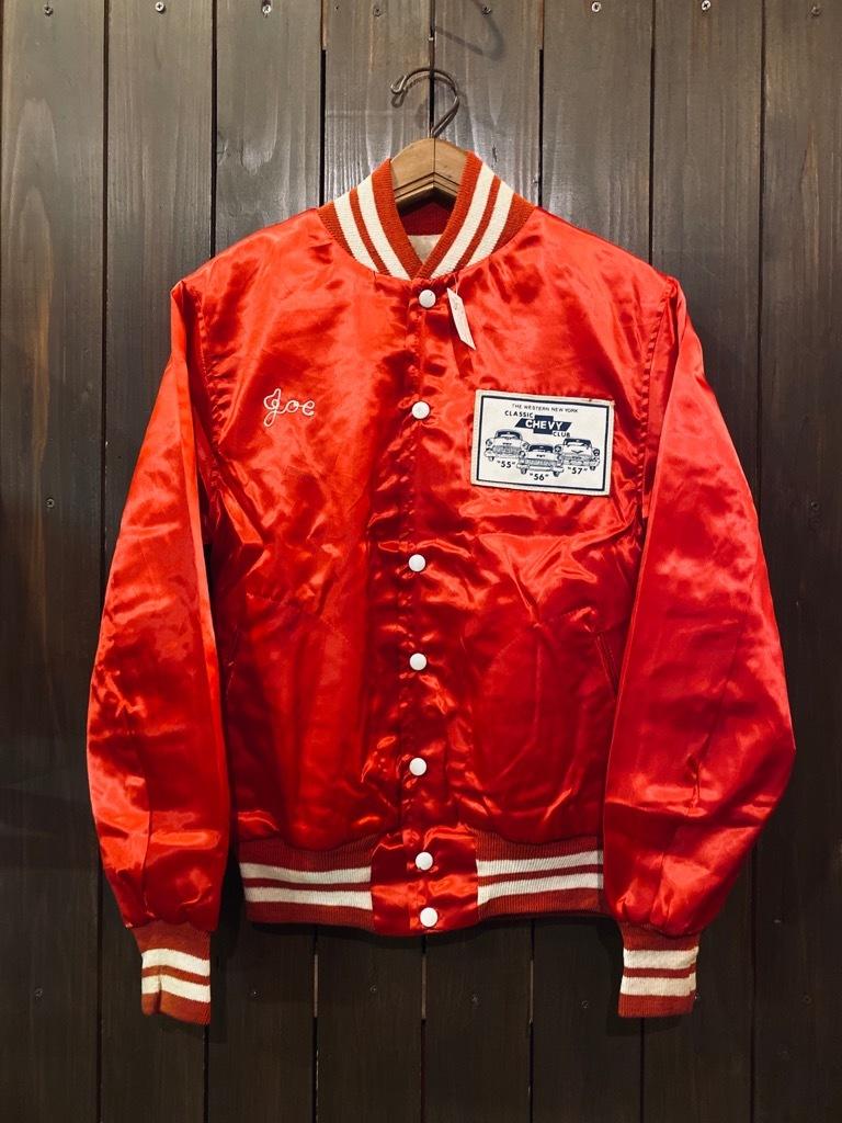 マグネッツ神戸店 8/8(土)Made in U.S.A. Nylon/Satin Varsity Jacket入荷! #3 Chain Stitch!!!_c0078587_15060498.jpg