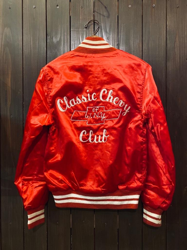 マグネッツ神戸店 8/8(土)Made in U.S.A. Nylon/Satin Varsity Jacket入荷! #3 Chain Stitch!!!_c0078587_15072285.jpg