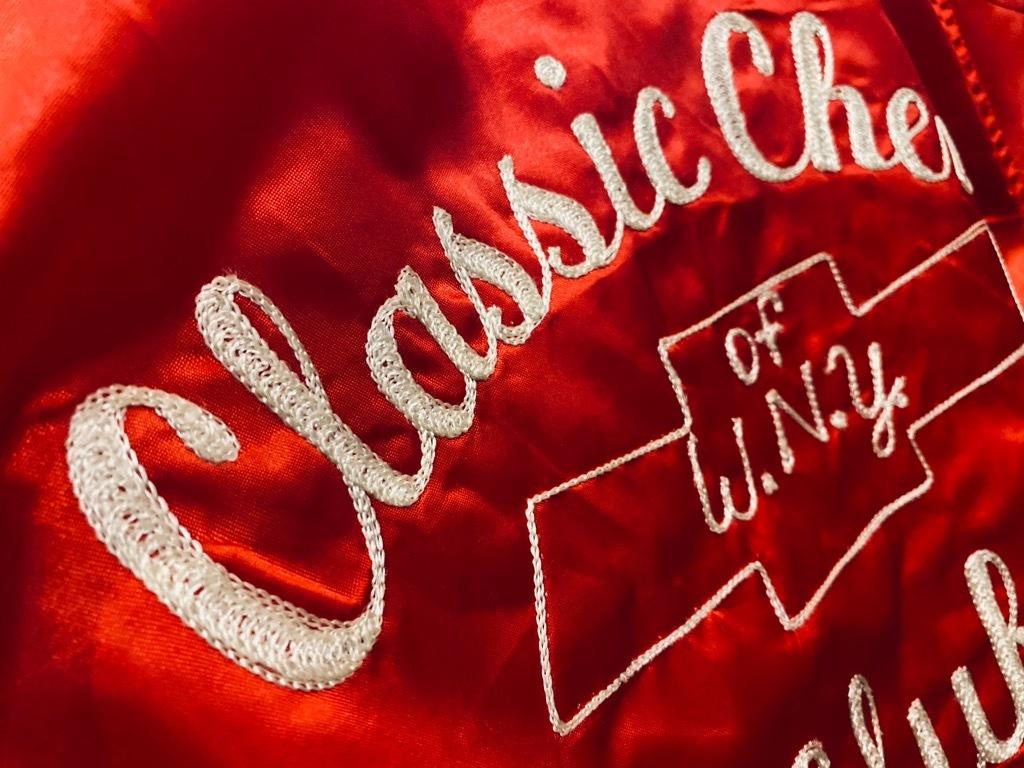 マグネッツ神戸店 8/8(土)Made in U.S.A. Nylon/Satin Varsity Jacket入荷! #3 Chain Stitch!!!_c0078587_15072316.jpg
