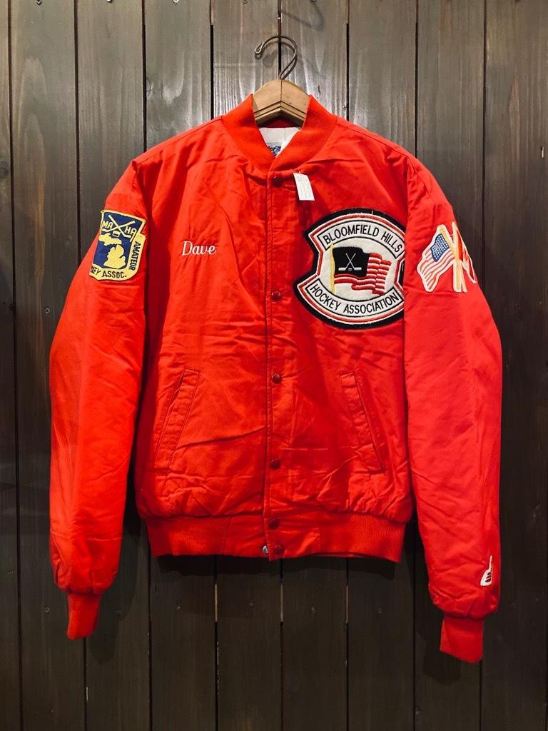 マグネッツ神戸店 8/8(土)Made in U.S.A. Nylon/Satin Varsity Jacket入荷! #3 Chain Stitch!!!_c0078587_15075096.jpg