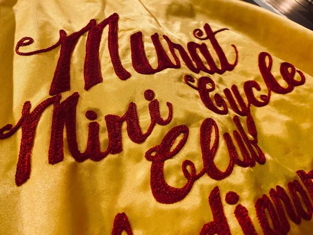 マグネッツ神戸店 8/8(土)Made in U.S.A. Nylon/Satin Varsity Jacket入荷! #3 Chain Stitch!!!_c0078587_15263036.jpg