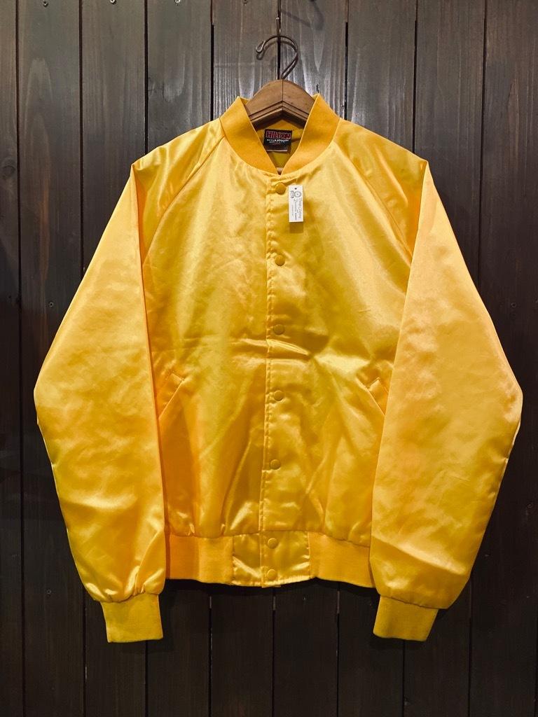 マグネッツ神戸店 8/8(土)Made in U.S.A. Nylon/Satin Varsity Jacket入荷! #3 Chain Stitch!!!_c0078587_15263040.jpg