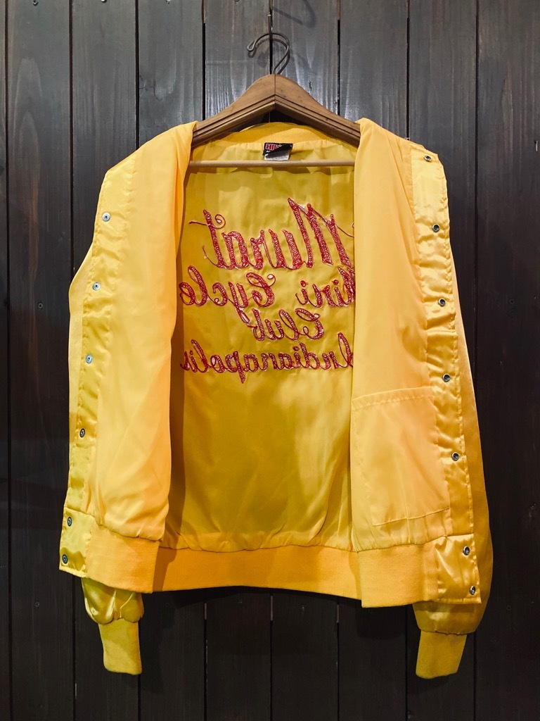 マグネッツ神戸店 8/8(土)Made in U.S.A. Nylon/Satin Varsity Jacket入荷! #3 Chain Stitch!!!_c0078587_15263054.jpg