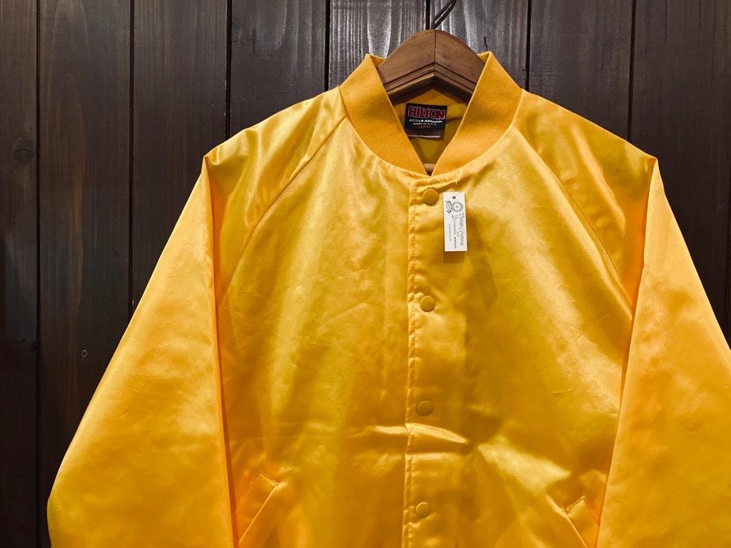 マグネッツ神戸店 8/8(土)Made in U.S.A. Nylon/Satin Varsity Jacket入荷! #3 Chain Stitch!!!_c0078587_15265207.jpg