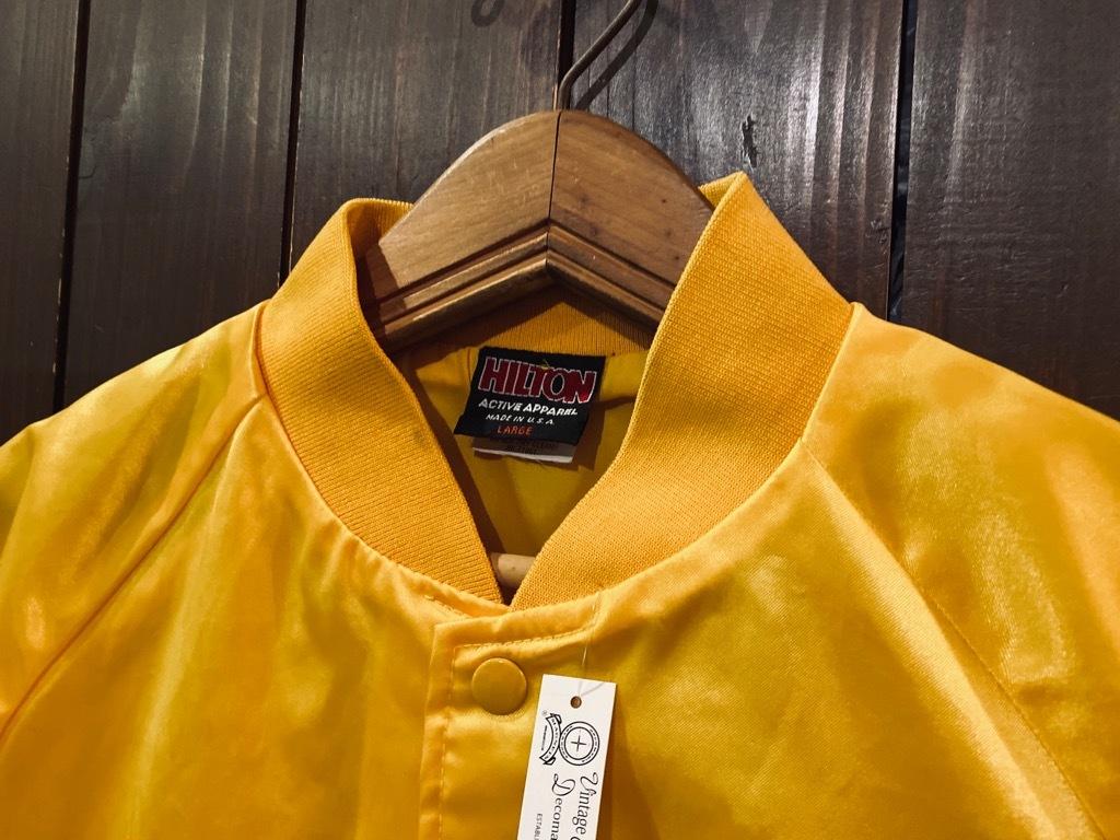 マグネッツ神戸店 8/8(土)Made in U.S.A. Nylon/Satin Varsity Jacket入荷! #3 Chain Stitch!!!_c0078587_15265295.jpg