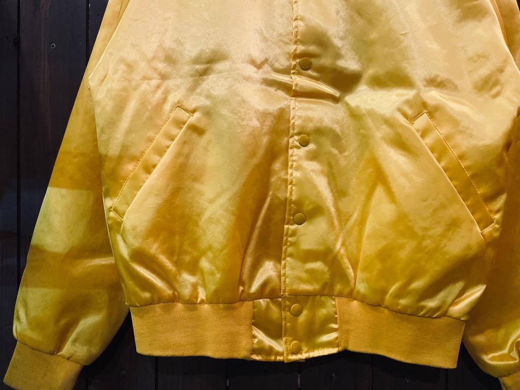 マグネッツ神戸店 8/8(土)Made in U.S.A. Nylon/Satin Varsity Jacket入荷! #3 Chain Stitch!!!_c0078587_15265343.jpg
