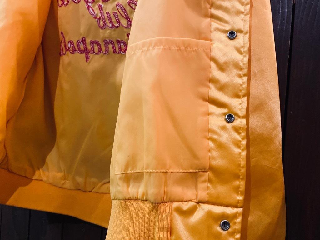 マグネッツ神戸店 8/8(土)Made in U.S.A. Nylon/Satin Varsity Jacket入荷! #3 Chain Stitch!!!_c0078587_15265362.jpg