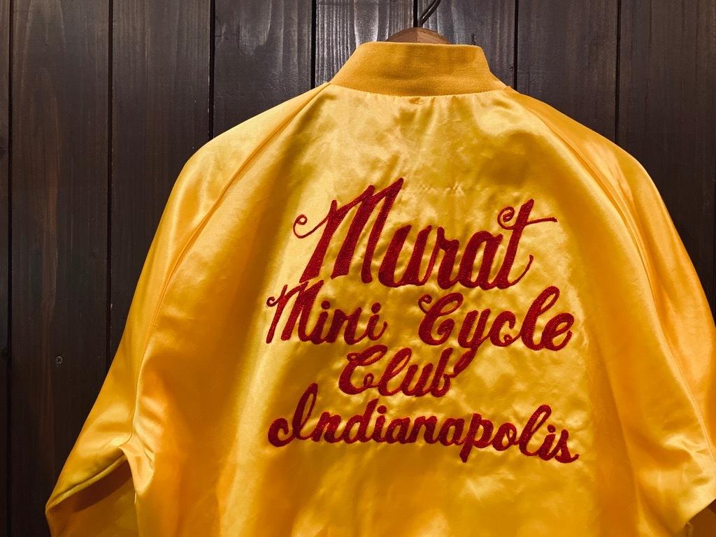 マグネッツ神戸店 8/8(土)Made in U.S.A. Nylon/Satin Varsity Jacket入荷! #3 Chain Stitch!!!_c0078587_15265378.jpg