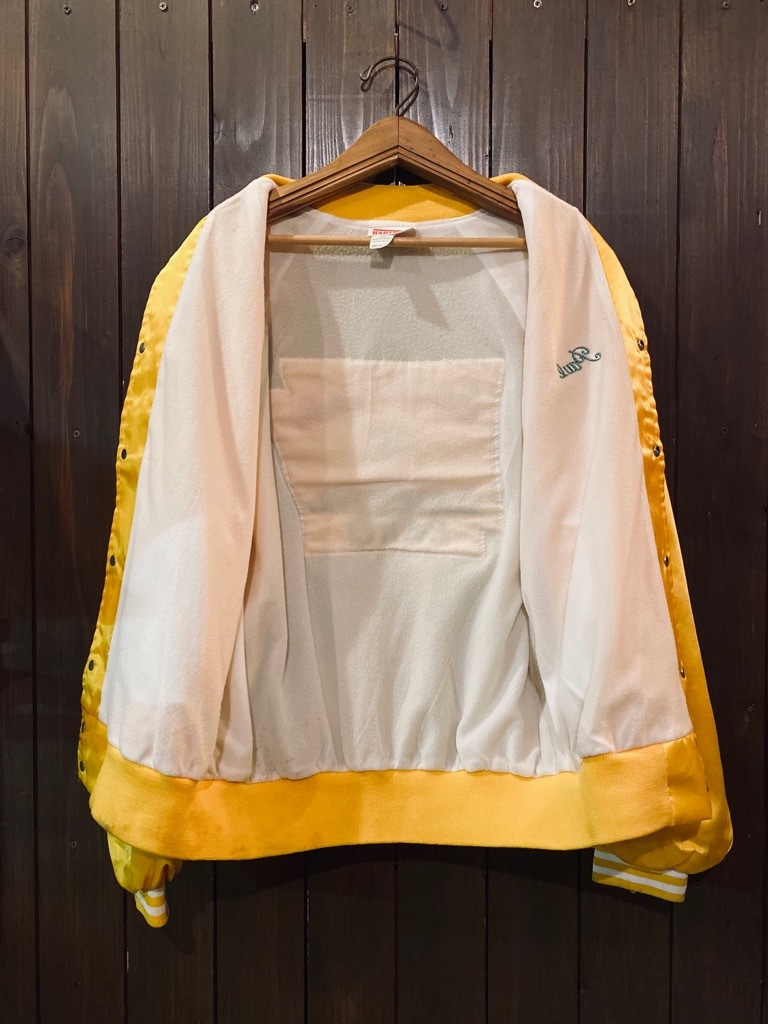 マグネッツ神戸店 8/8(土)Made in U.S.A. Nylon/Satin Varsity Jacket入荷! #3 Chain Stitch!!!_c0078587_15283647.jpg