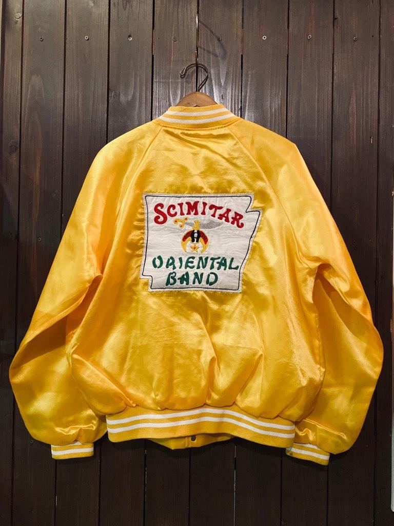 マグネッツ神戸店 8/8(土)Made in U.S.A. Nylon/Satin Varsity Jacket入荷! #3 Chain Stitch!!!_c0078587_15283691.jpg