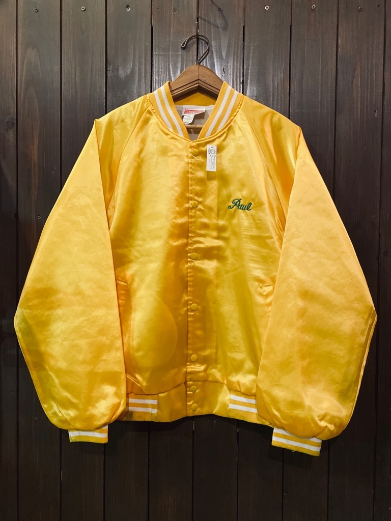 マグネッツ神戸店 8/8(土)Made in U.S.A. Nylon/Satin Varsity Jacket入荷! #3 Chain Stitch!!!_c0078587_15283755.jpg