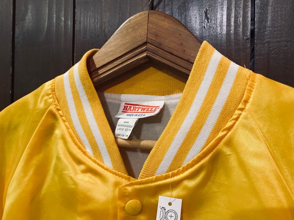 マグネッツ神戸店 8/8(土)Made in U.S.A. Nylon/Satin Varsity Jacket入荷! #3 Chain Stitch!!!_c0078587_15290510.jpg