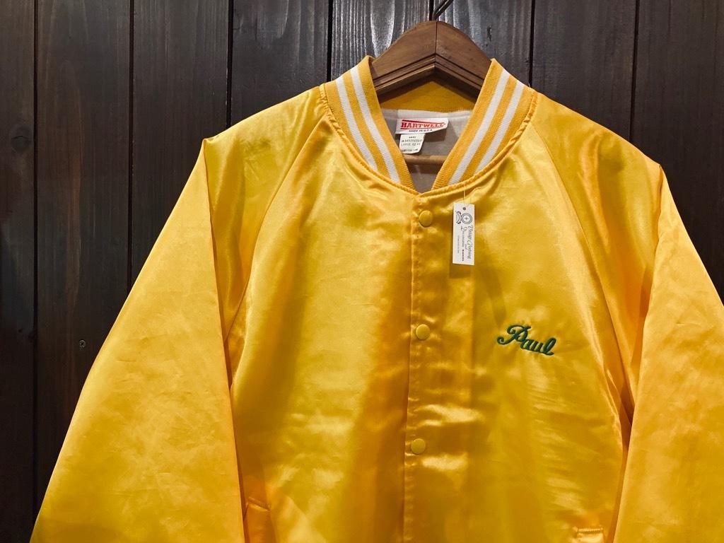 マグネッツ神戸店 8/8(土)Made in U.S.A. Nylon/Satin Varsity Jacket入荷! #3 Chain Stitch!!!_c0078587_15290532.jpg