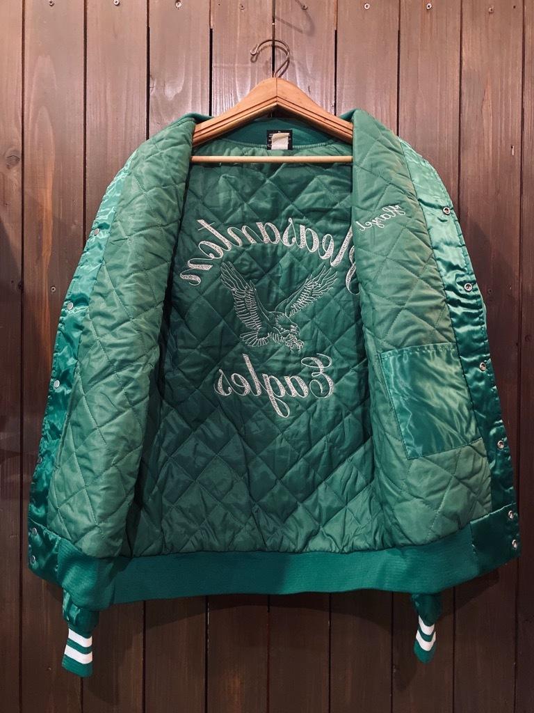 マグネッツ神戸店 8/8(土)Made in U.S.A. Nylon/Satin Varsity Jacket入荷! #3 Chain Stitch!!!_c0078587_15295025.jpg
