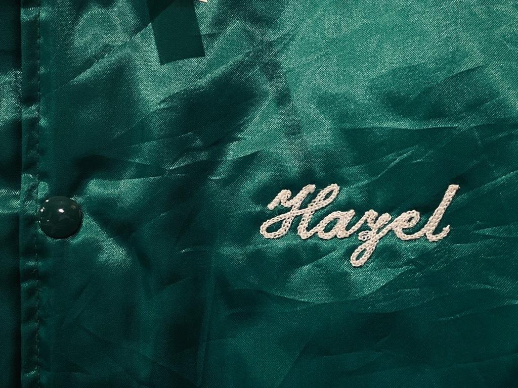 マグネッツ神戸店 8/8(土)Made in U.S.A. Nylon/Satin Varsity Jacket入荷! #3 Chain Stitch!!!_c0078587_15301541.jpg