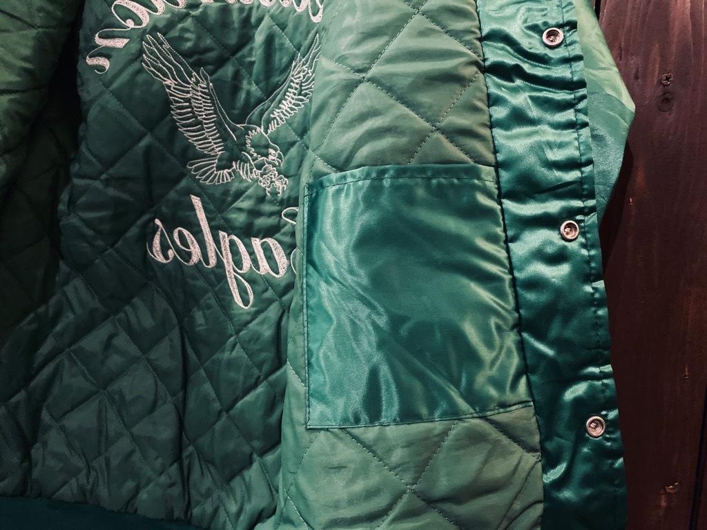マグネッツ神戸店 8/8(土)Made in U.S.A. Nylon/Satin Varsity Jacket入荷! #3 Chain Stitch!!!_c0078587_15301545.jpg