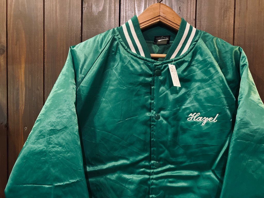 マグネッツ神戸店 8/8(土)Made in U.S.A. Nylon/Satin Varsity Jacket入荷! #3 Chain Stitch!!!_c0078587_15301584.jpg