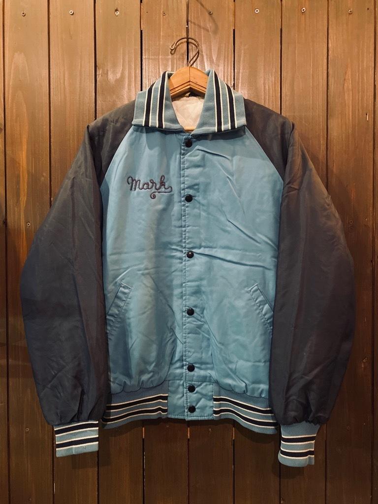 マグネッツ神戸店 8/8(土)Made in U.S.A. Nylon/Satin Varsity Jacket入荷! #3 Chain Stitch!!!_c0078587_15304613.jpg