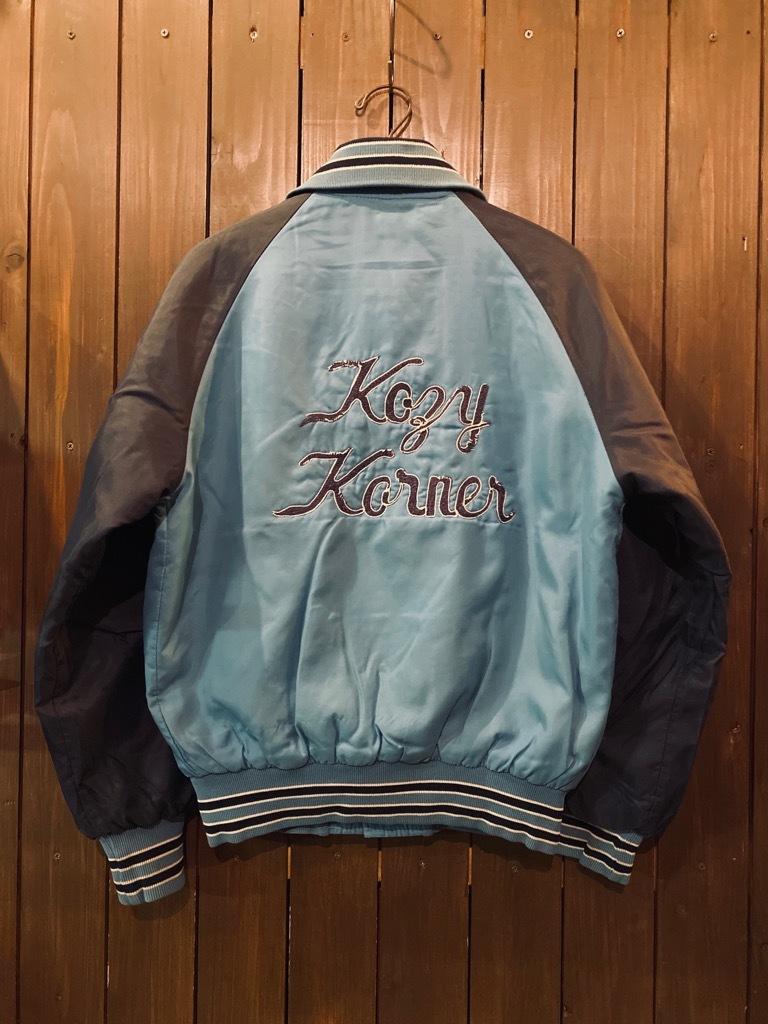 マグネッツ神戸店 8/8(土)Made in U.S.A. Nylon/Satin Varsity Jacket入荷! #3 Chain Stitch!!!_c0078587_15304680.jpg