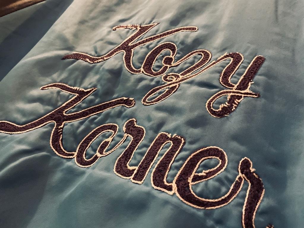 マグネッツ神戸店 8/8(土)Made in U.S.A. Nylon/Satin Varsity Jacket入荷! #3 Chain Stitch!!!_c0078587_15304689.jpg