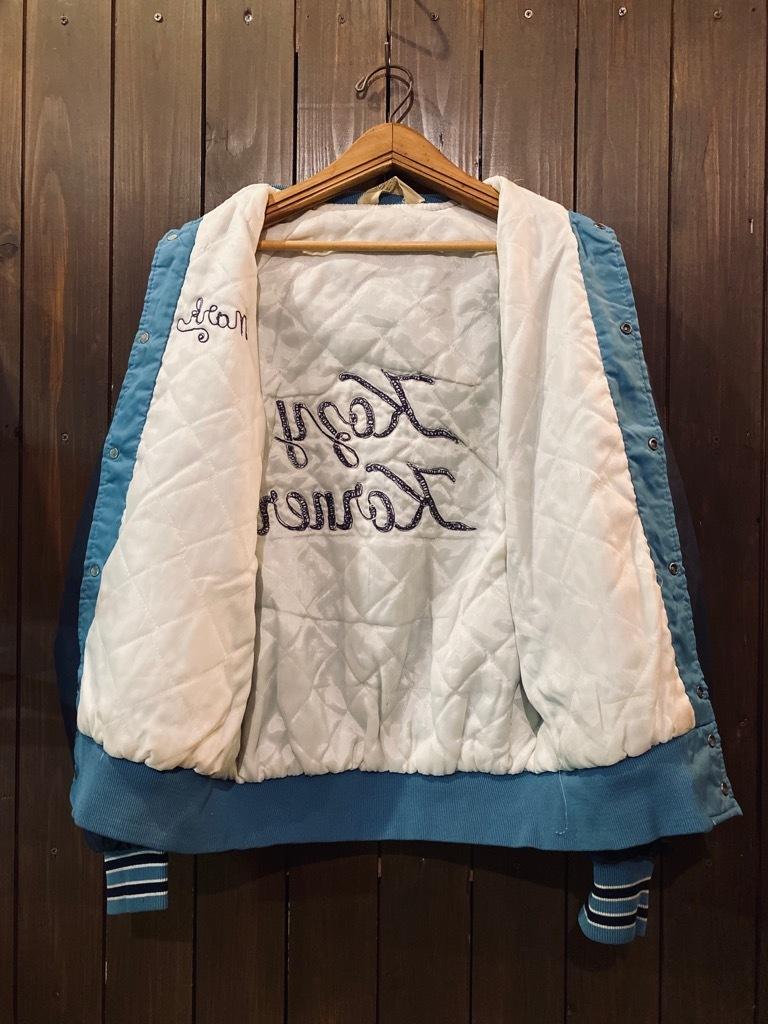 マグネッツ神戸店 8/8(土)Made in U.S.A. Nylon/Satin Varsity Jacket入荷! #3 Chain Stitch!!!_c0078587_15304757.jpg