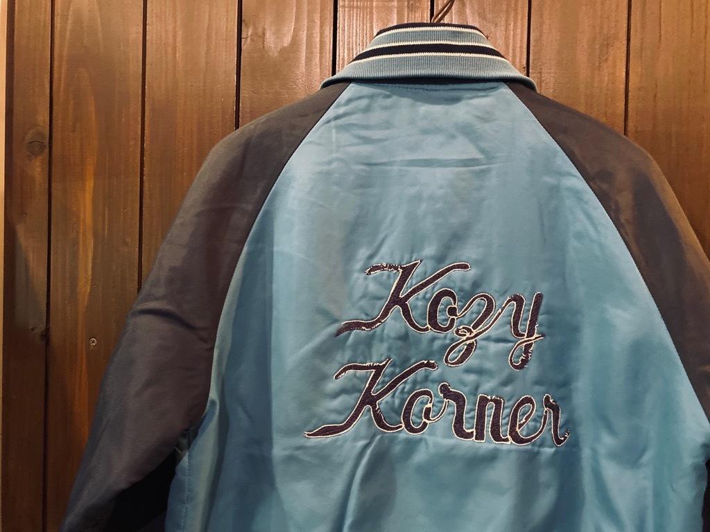 マグネッツ神戸店 8/8(土)Made in U.S.A. Nylon/Satin Varsity Jacket入荷! #3 Chain Stitch!!!_c0078587_15311025.jpg