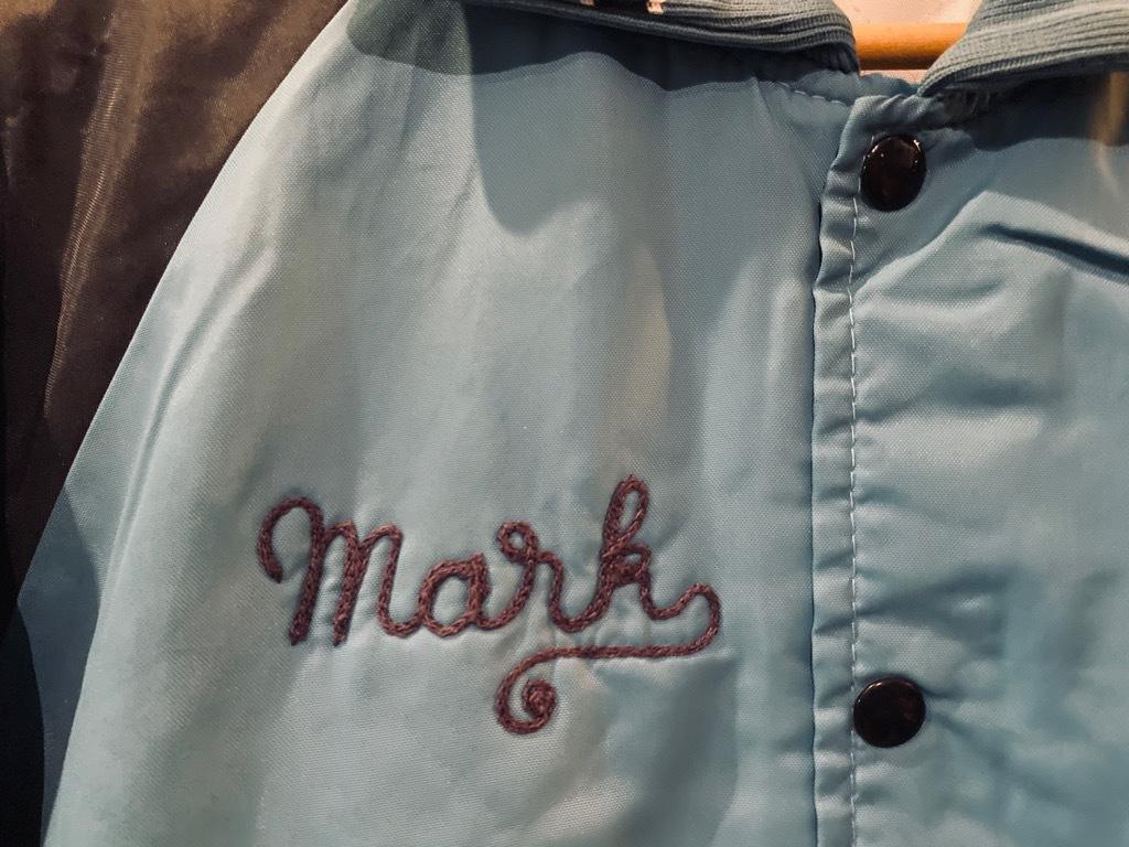 マグネッツ神戸店 8/8(土)Made in U.S.A. Nylon/Satin Varsity Jacket入荷! #3 Chain Stitch!!!_c0078587_15311026.jpg