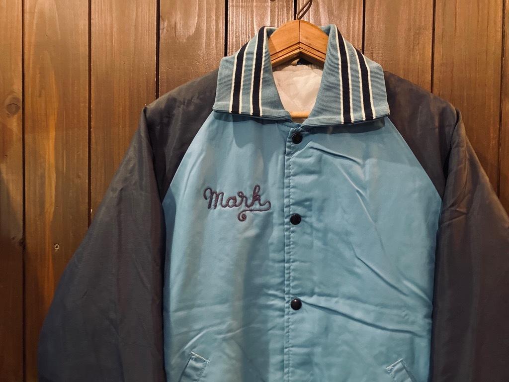マグネッツ神戸店 8/8(土)Made in U.S.A. Nylon/Satin Varsity Jacket入荷! #3 Chain Stitch!!!_c0078587_15311045.jpg