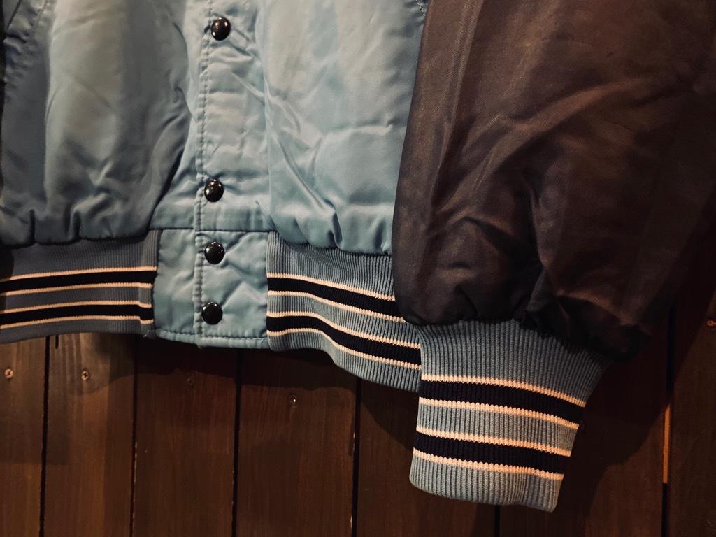 マグネッツ神戸店 8/8(土)Made in U.S.A. Nylon/Satin Varsity Jacket入荷! #3 Chain Stitch!!!_c0078587_15311050.jpg