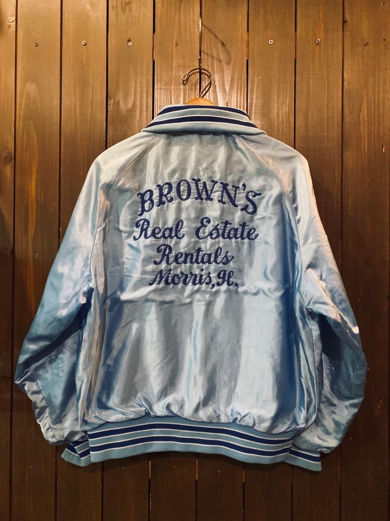 マグネッツ神戸店 8/8(土)Made in U.S.A. Nylon/Satin Varsity Jacket入荷! #3 Chain Stitch!!!_c0078587_15314126.jpg