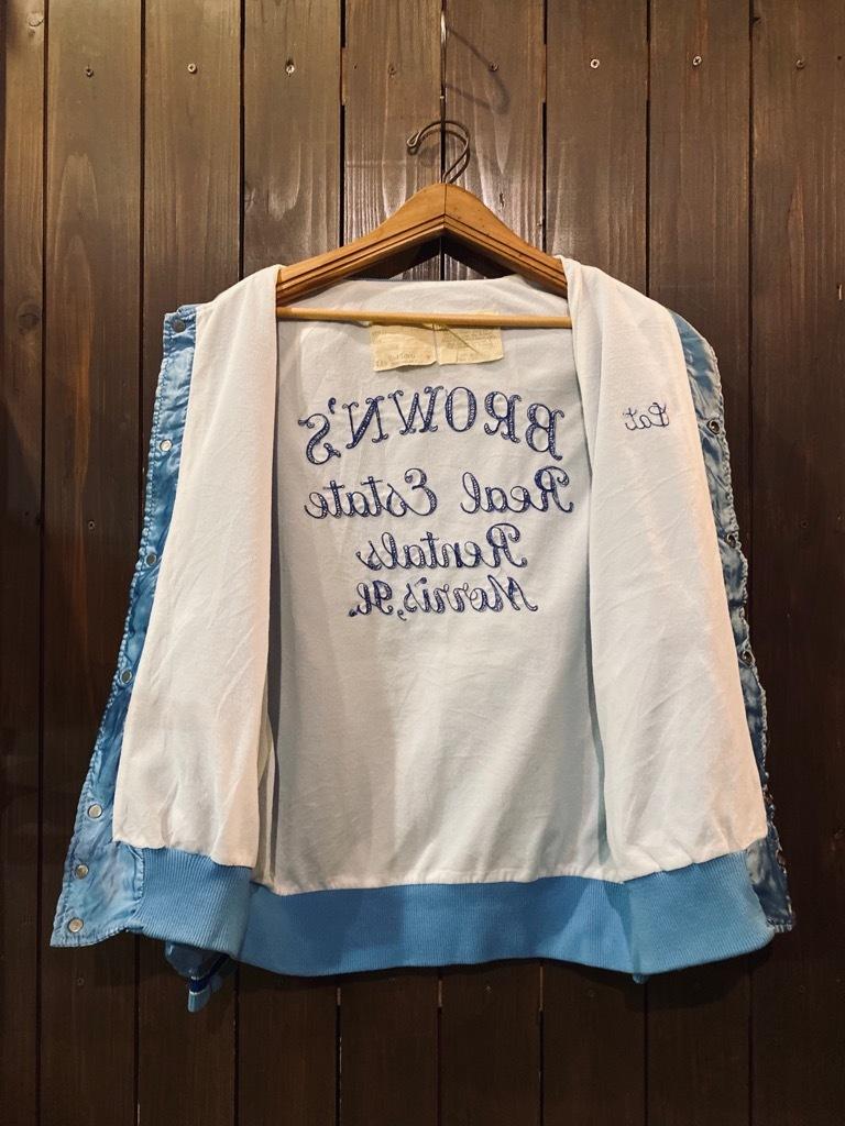 マグネッツ神戸店 8/8(土)Made in U.S.A. Nylon/Satin Varsity Jacket入荷! #3 Chain Stitch!!!_c0078587_15314208.jpg