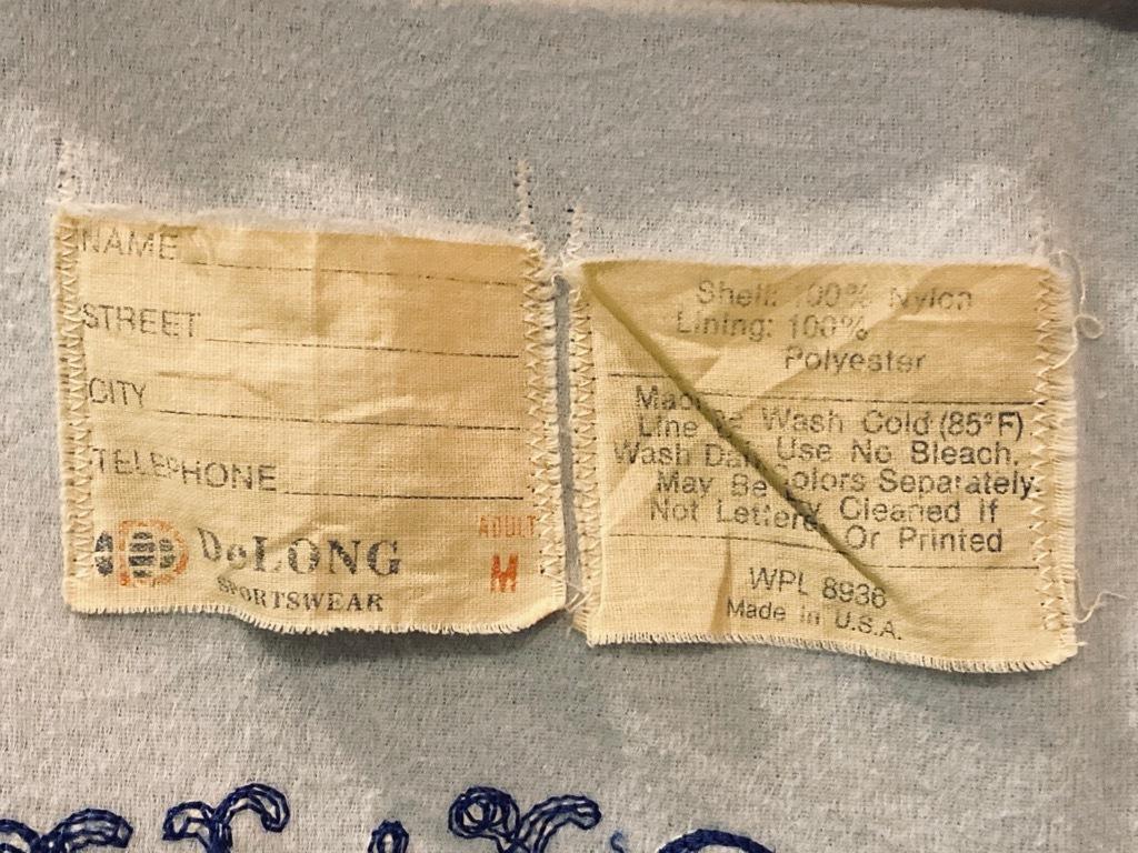 マグネッツ神戸店 8/8(土)Made in U.S.A. Nylon/Satin Varsity Jacket入荷! #3 Chain Stitch!!!_c0078587_15314275.jpg