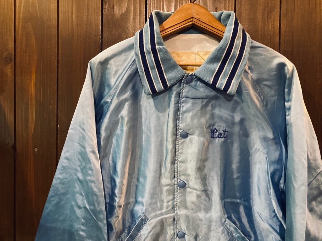 マグネッツ神戸店 8/8(土)Made in U.S.A. Nylon/Satin Varsity Jacket入荷! #3 Chain Stitch!!!_c0078587_15320870.jpg