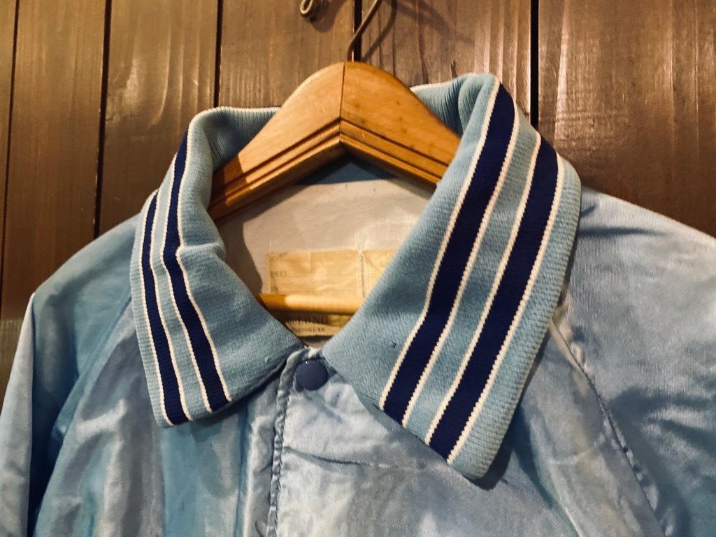 マグネッツ神戸店 8/8(土)Made in U.S.A. Nylon/Satin Varsity Jacket入荷! #3 Chain Stitch!!!_c0078587_15320886.jpg