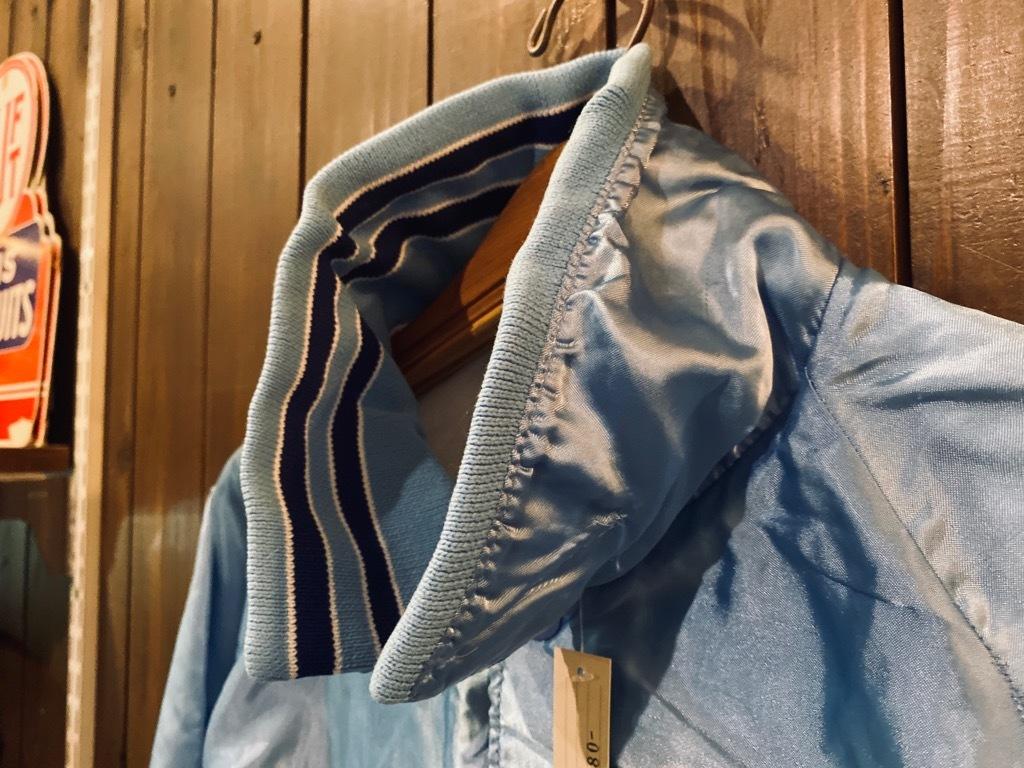 マグネッツ神戸店 8/8(土)Made in U.S.A. Nylon/Satin Varsity Jacket入荷! #3 Chain Stitch!!!_c0078587_15320946.jpg