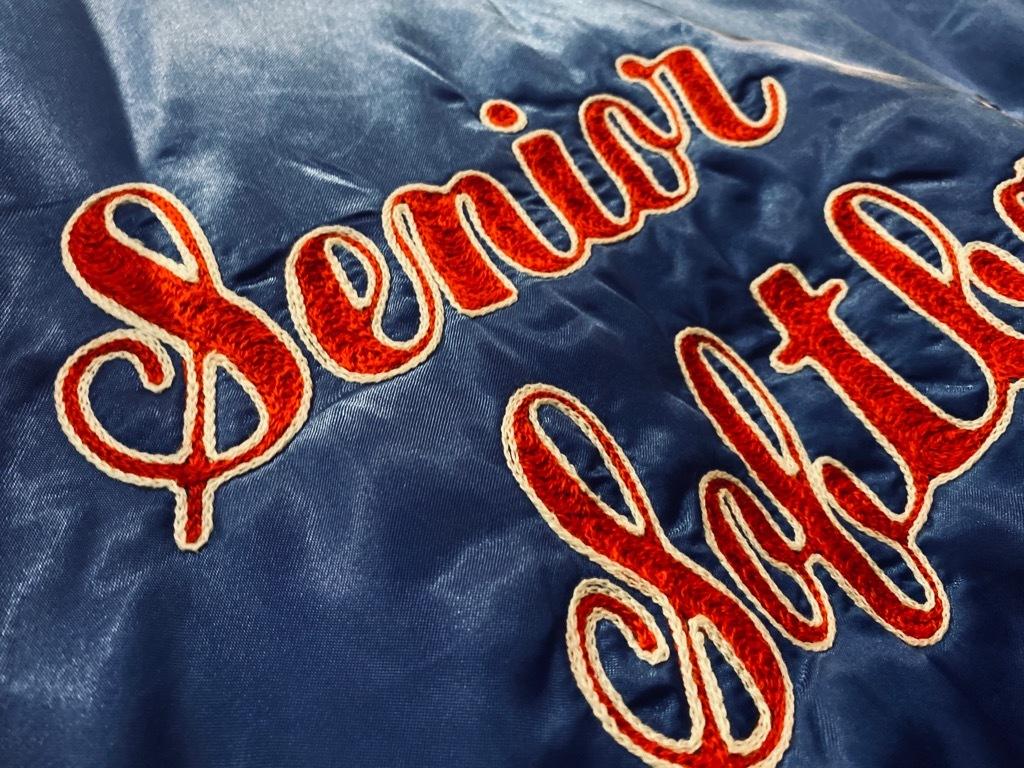マグネッツ神戸店 8/8(土)Made in U.S.A. Nylon/Satin Varsity Jacket入荷! #3 Chain Stitch!!!_c0078587_15324505.jpg
