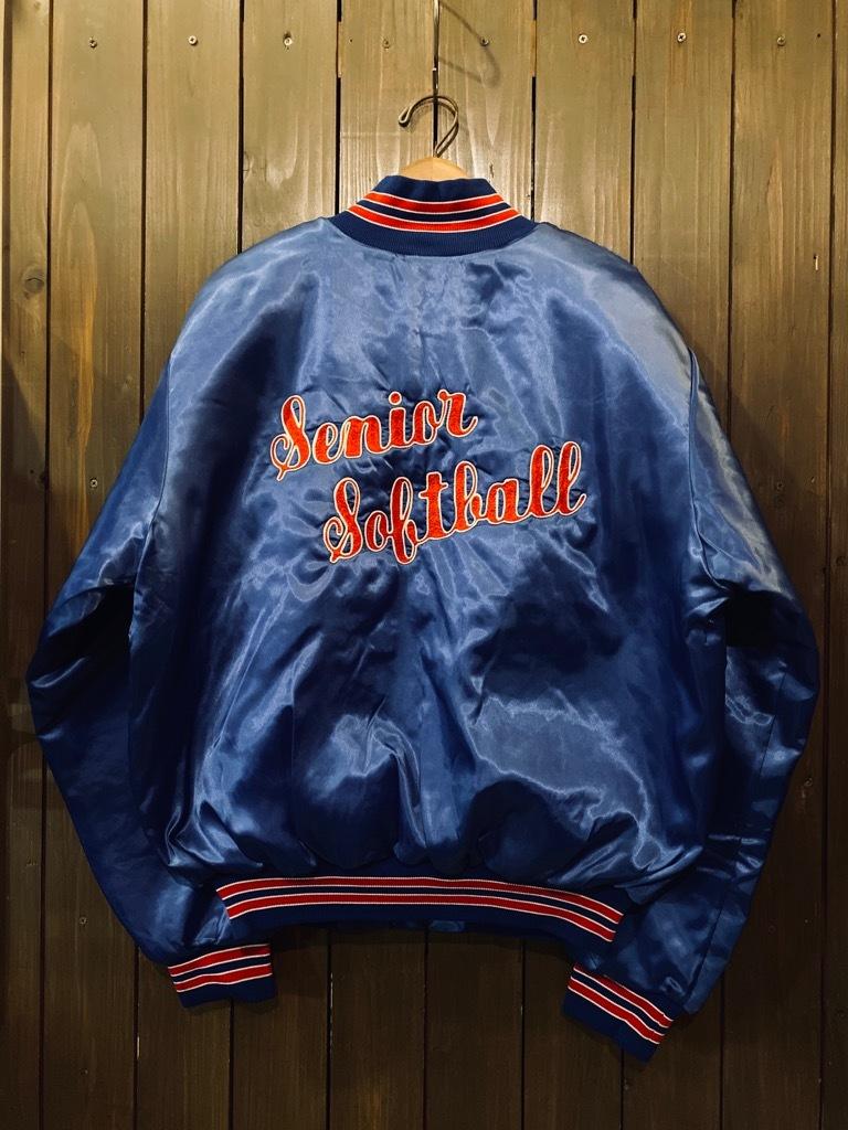 マグネッツ神戸店 8/8(土)Made in U.S.A. Nylon/Satin Varsity Jacket入荷! #3 Chain Stitch!!!_c0078587_15324578.jpg