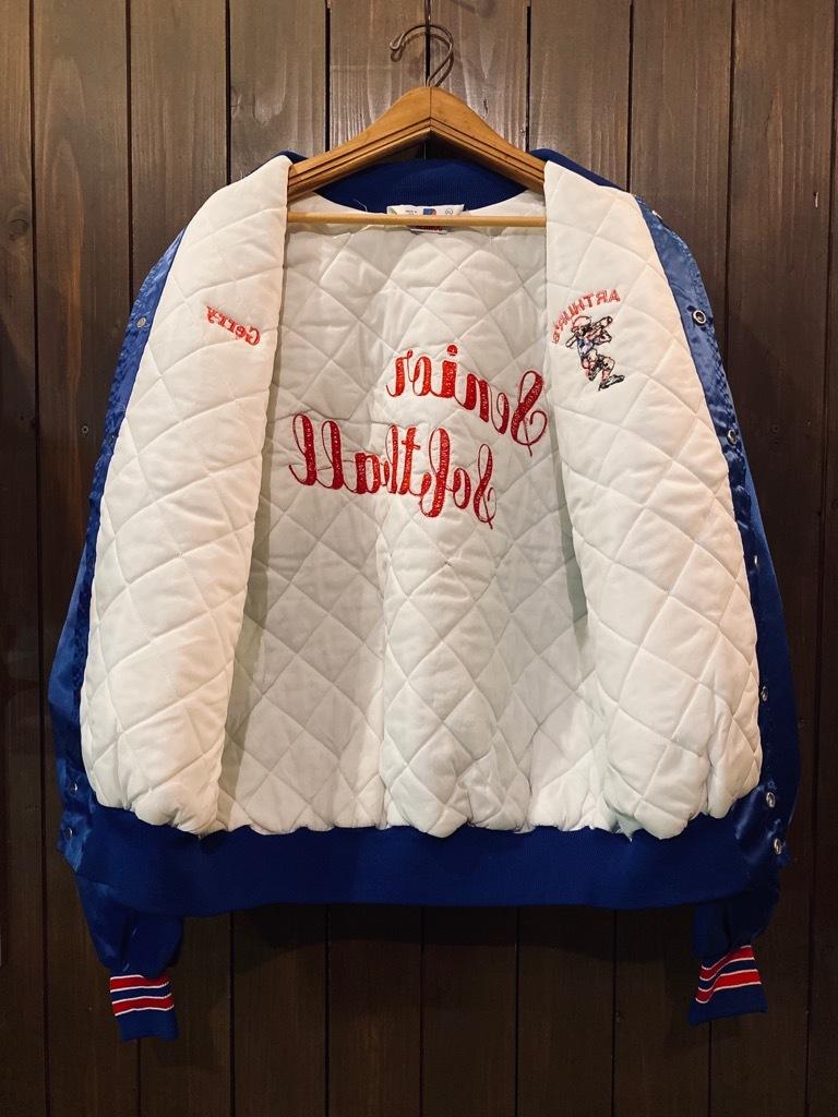 マグネッツ神戸店 8/8(土)Made in U.S.A. Nylon/Satin Varsity Jacket入荷! #3 Chain Stitch!!!_c0078587_15324646.jpg